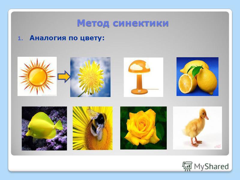 1. Аналогия по цвету: Метод синектики