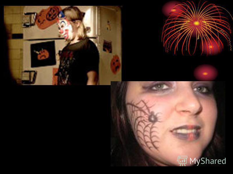 Вечером 31 октября, накануне Хэллоуина, устраиваются веселые вечеринки, карнавалы. Дети наряжаются в костюмы ведьм, привидений и всякой другой нечисти