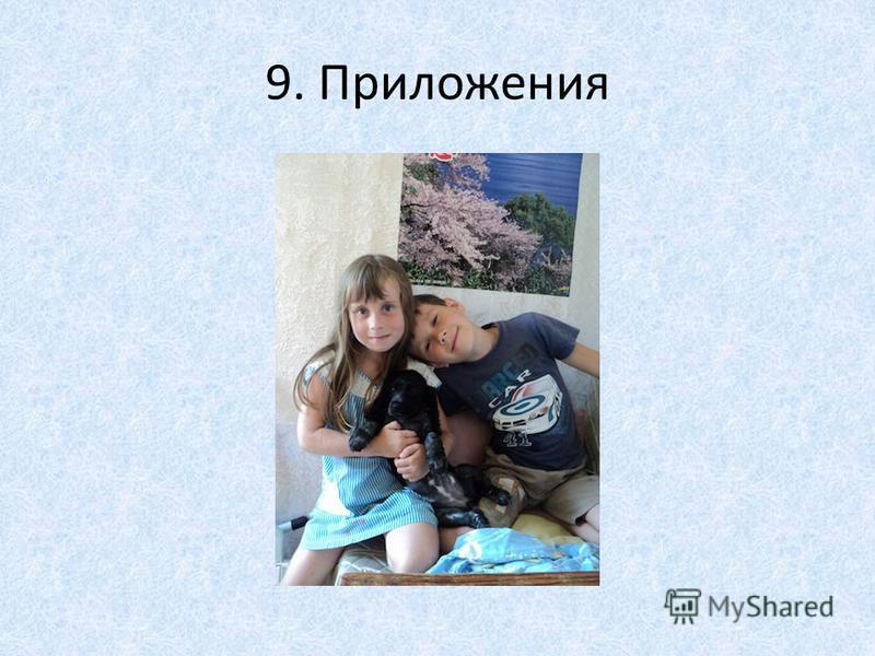 9. Приложения