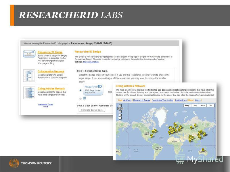 RESEARCHERID LABS