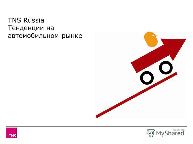 TNS Russia Тенденции на автомобильном рынке © 2013 TNS