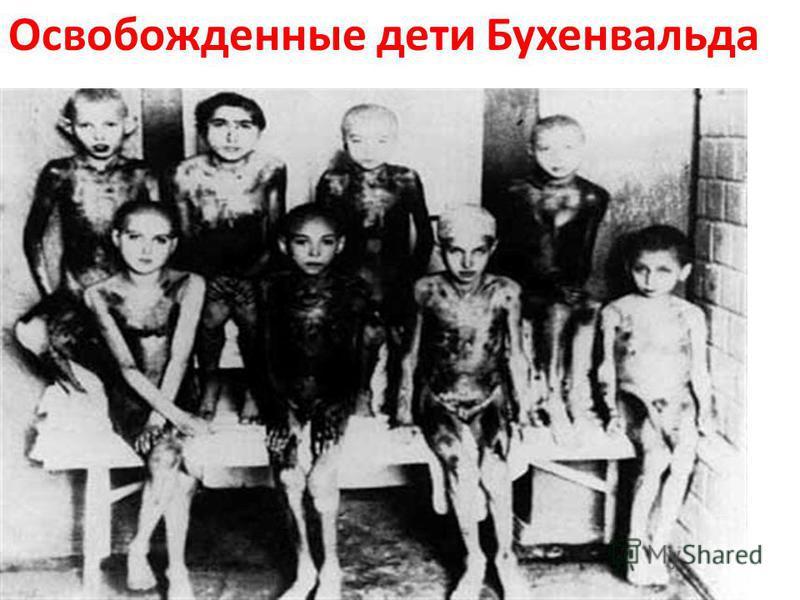 Освобожденные дети Бухенвальда