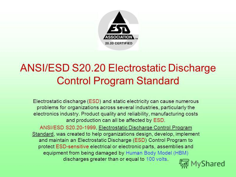 Electrostatic discharge (ESD) and static electricity can cause numerous problems for organizations across several industries, particularly the electronics industry. Product quality and reliability, manufacturing costs and production can all be affect