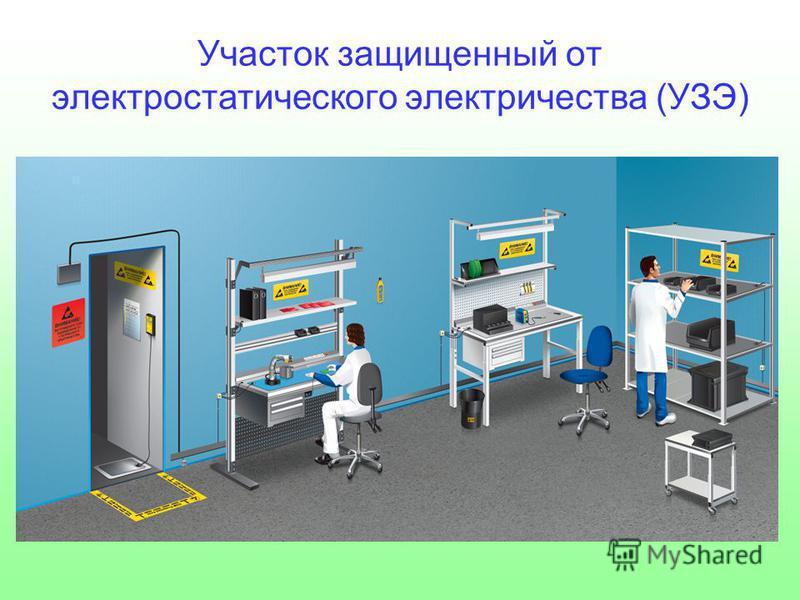 Участок защищенный от электростатического электричества (УЗЭ)