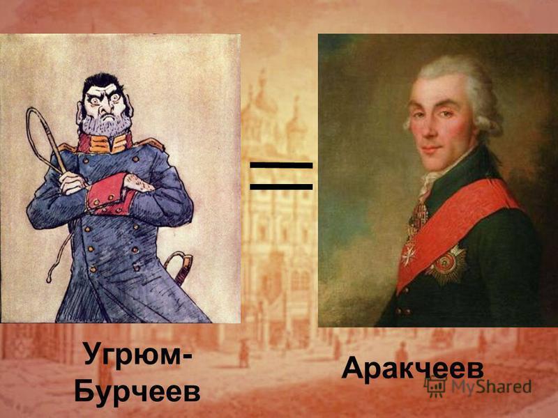 Угрюм- Бурчеев Аракчеев