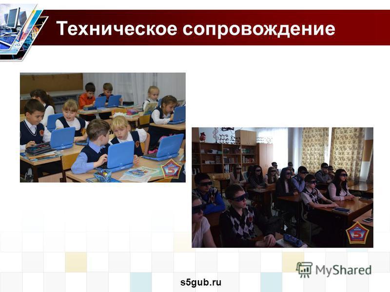 Техническое сопровождение s5gub.ru
