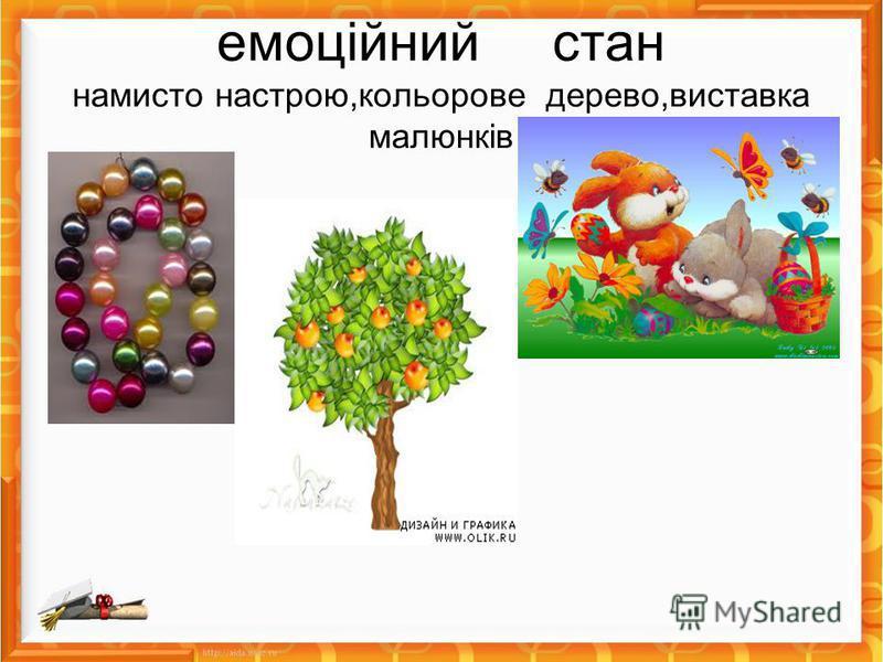 емоційний стан намисто настрою,кольорове дерево,виставка малюнків