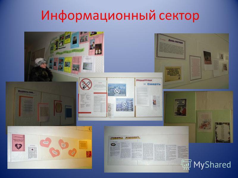 Информационный сектор