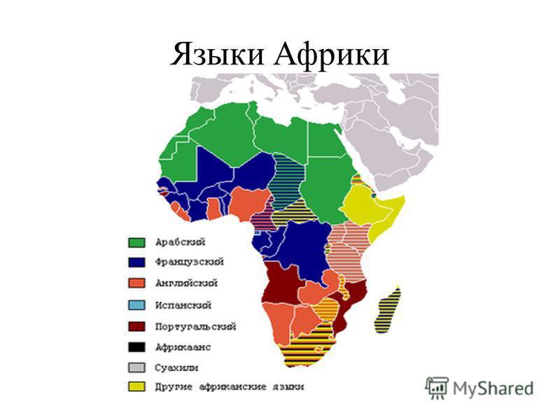Языки Африки