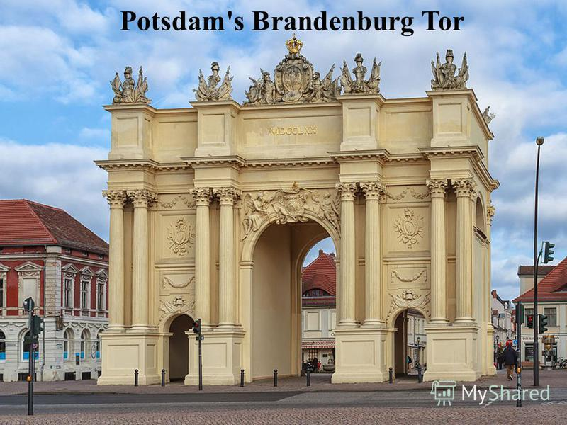 Potsdam's Brandenburg Tor