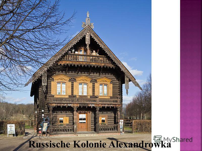 Russische Kolonie Alexandrowka