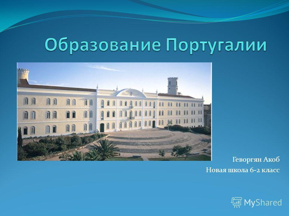 Геворгян Акоб Новая школа 6-2 класс