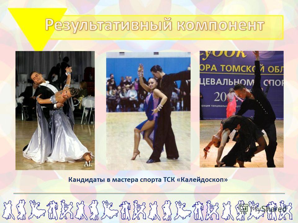 Кандидаты в мастера спорта ТСК «Калейдоскоп»