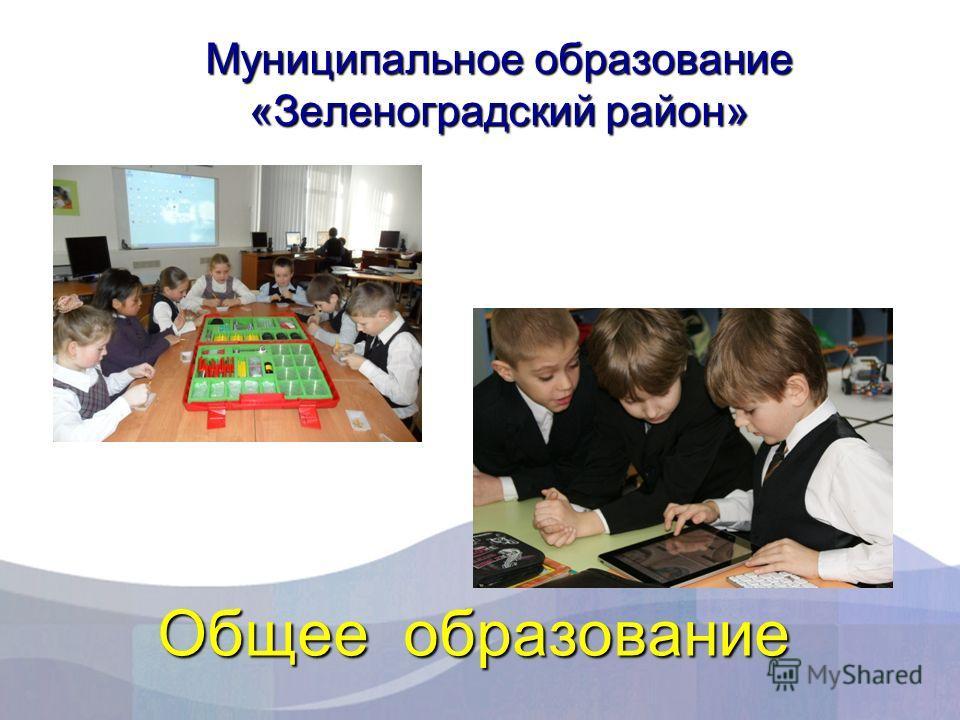 Общее образование Муниципальное образование «Зеленоградский район»
