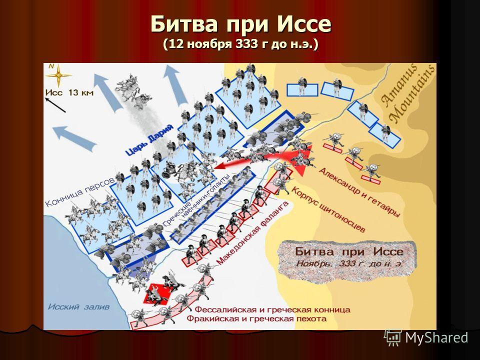 Битва при Иссе (12 ноября 333 г до н.э.)