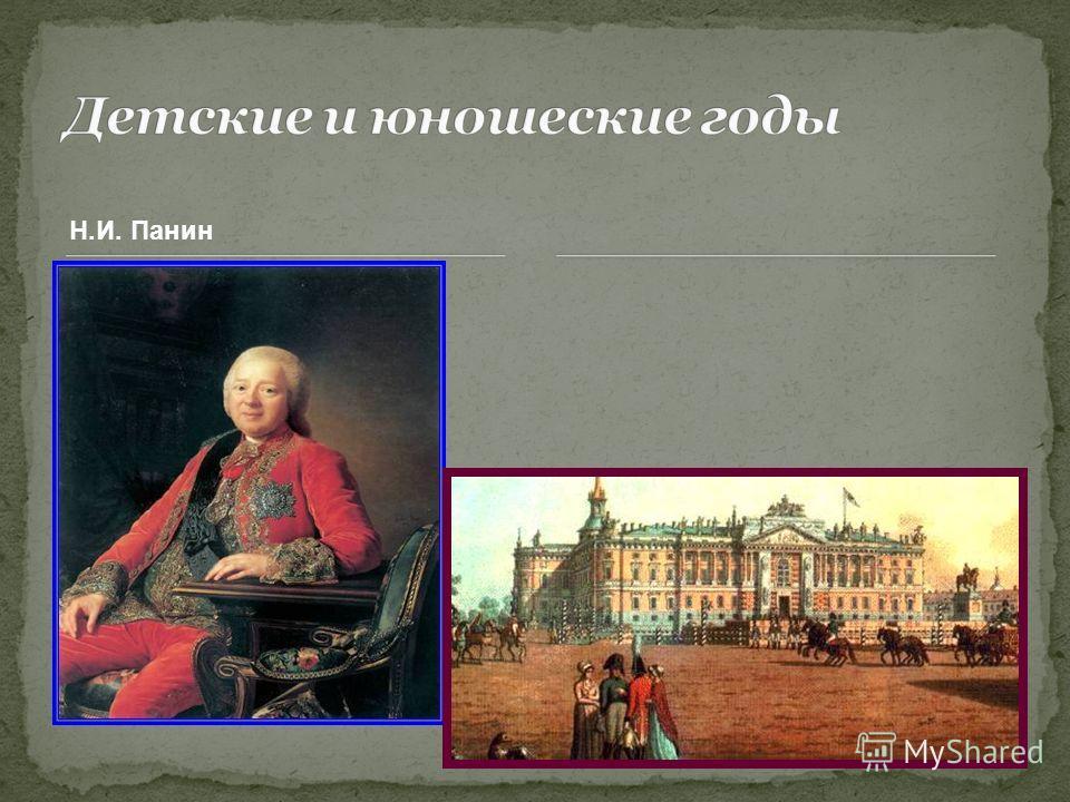 Н.И. Панин