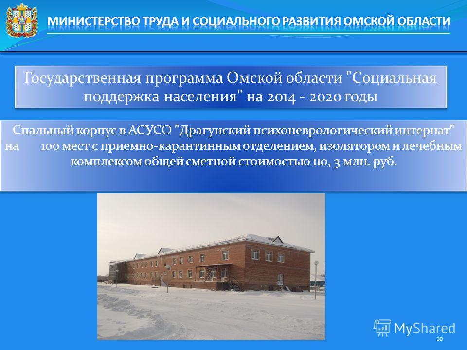 Государственная программа Омской области