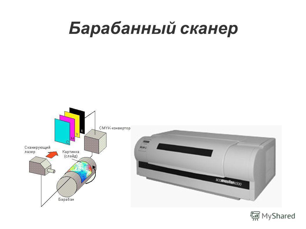 Барабанный сканер