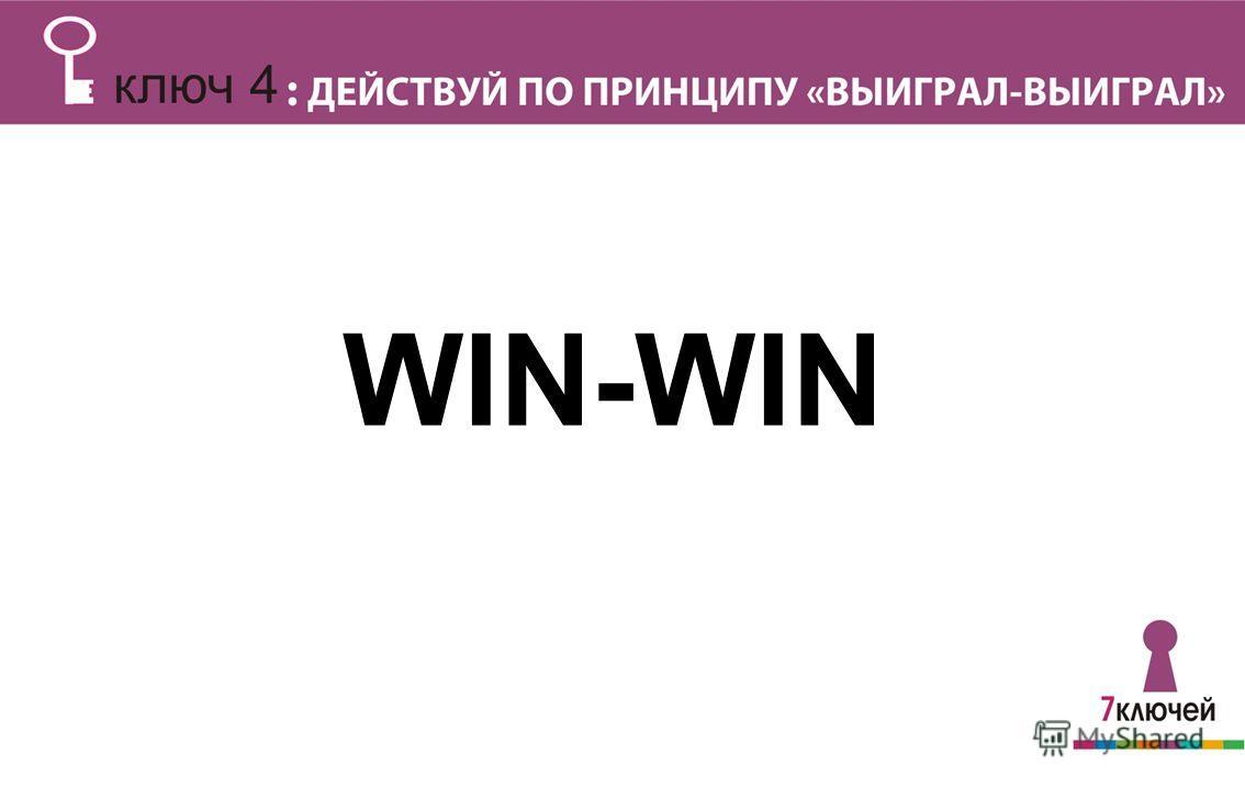 Выиграл – Проиграл: WIN-WIN