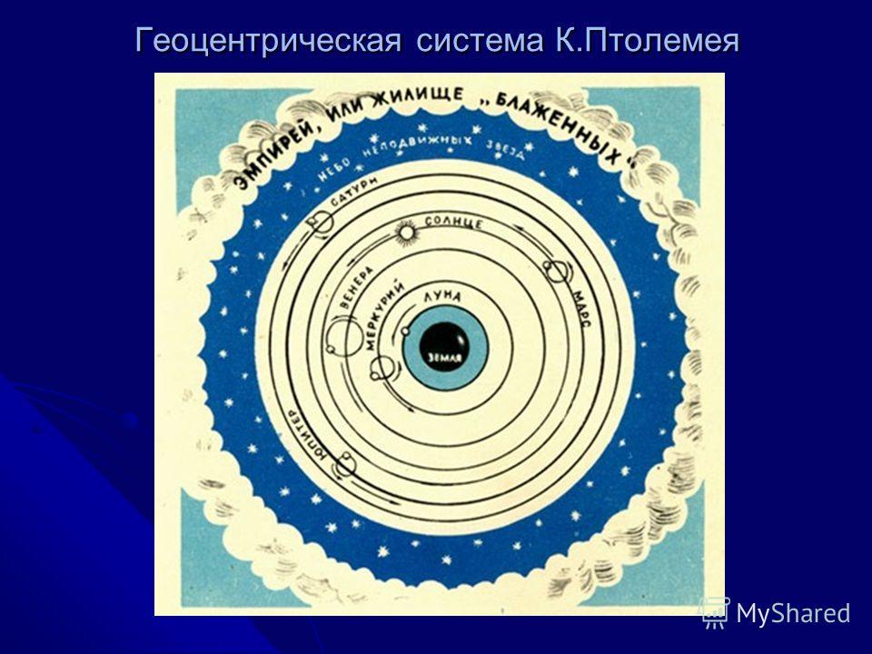 Геоцентрическая система К.Птолемея