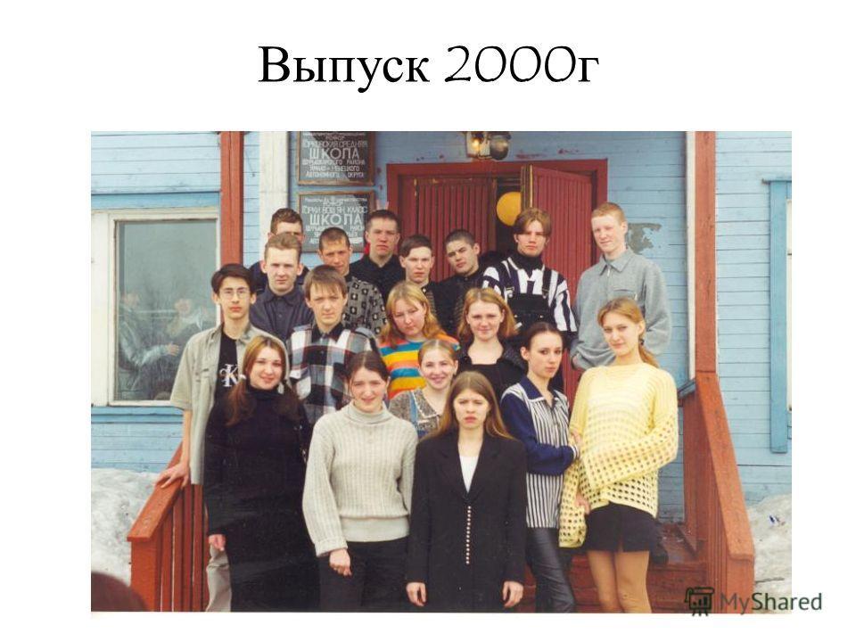 Выпуск 2000 г