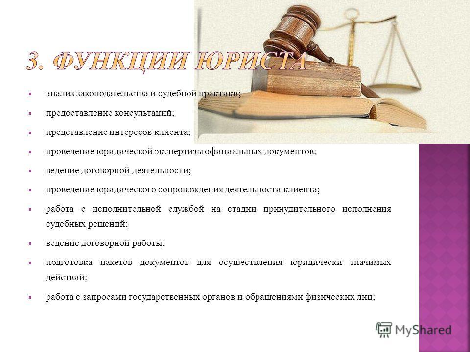 Юрист профессия анализ как тебе