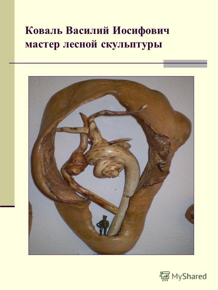 Коваль Василий Иосифович мастер лесной скульптуры