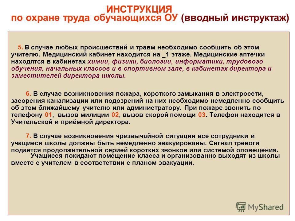 Вводный Инструктаж По Охране Труда Инструкция Скачать - фото 3