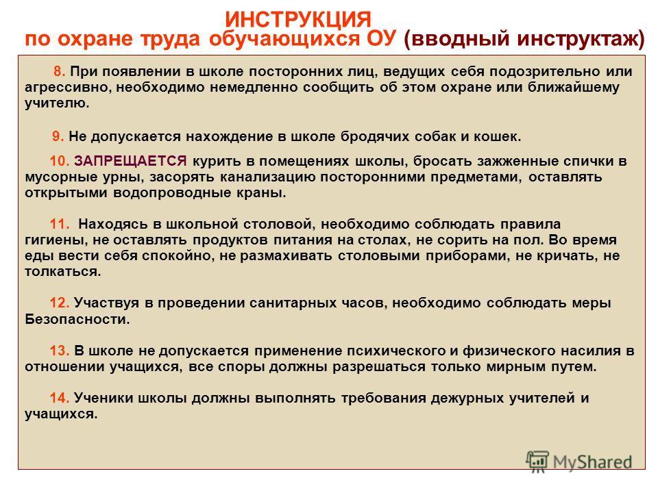 Вводный Инструктаж По Охране Труда Инструкция Скачать - фото 11