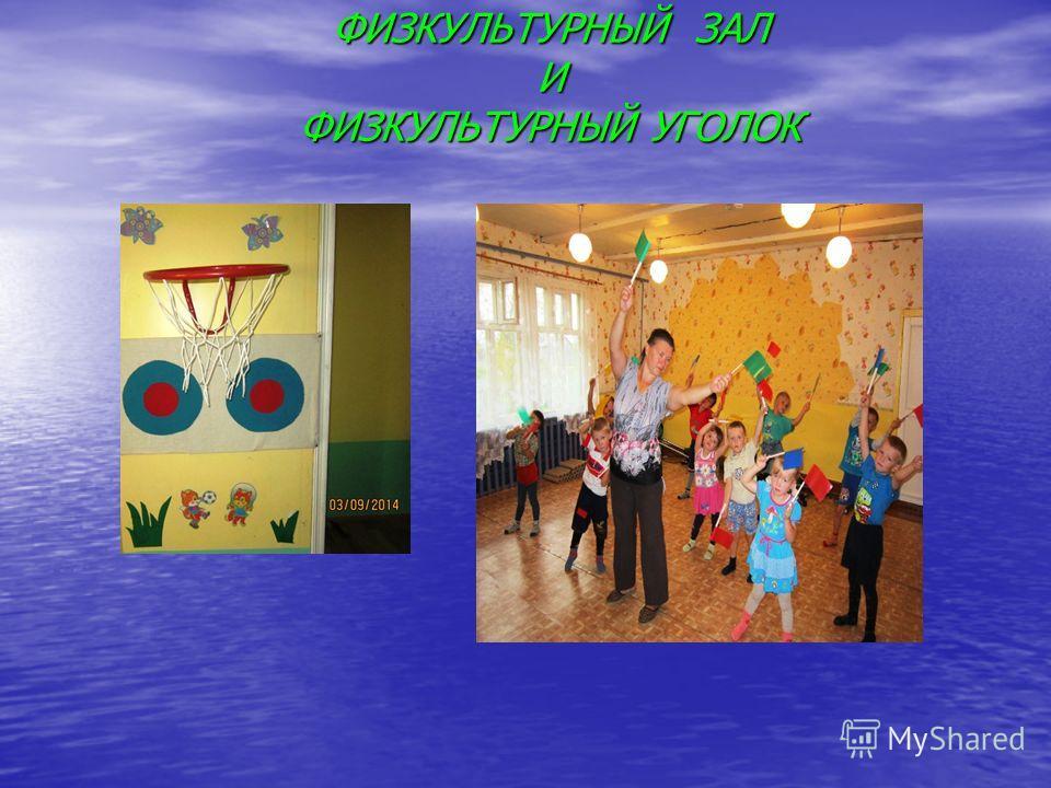 паспорт физкультурного зала в детском саду по фгос образец