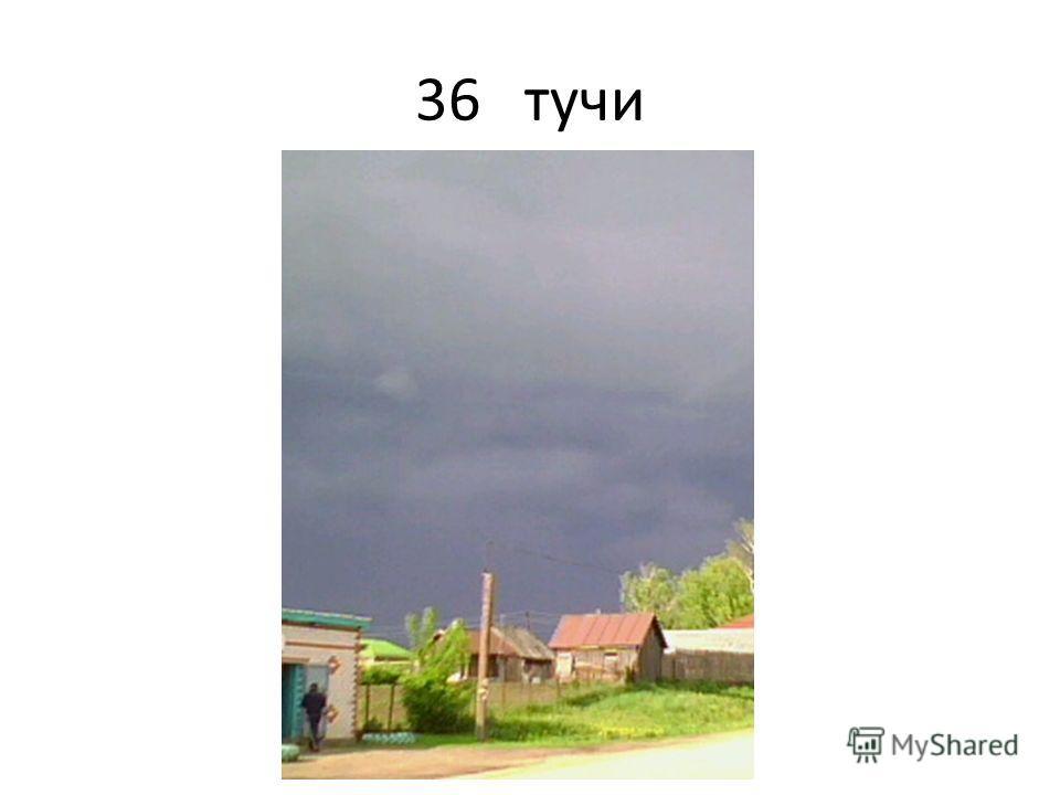 36 тучи