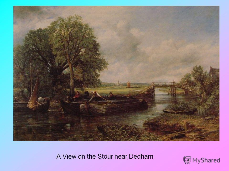 A View on the Stour near Dedham