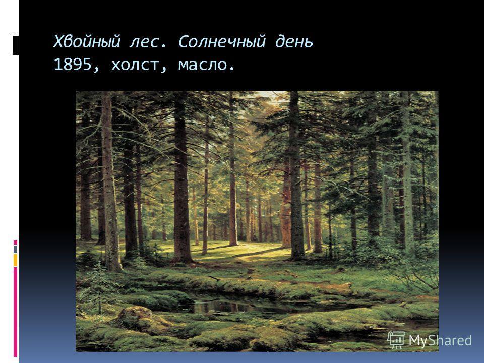 И. И. Шишкин родился 13 января 1832 года в г. Елабуге. Его отец, И. В. Шишкин, был не только купцом, но и археологом, историком и изобретателем. Отец поощрял тягу И. Шишкина к рисованию. В 1852 году будущий художник поступил в Московское Училище живо