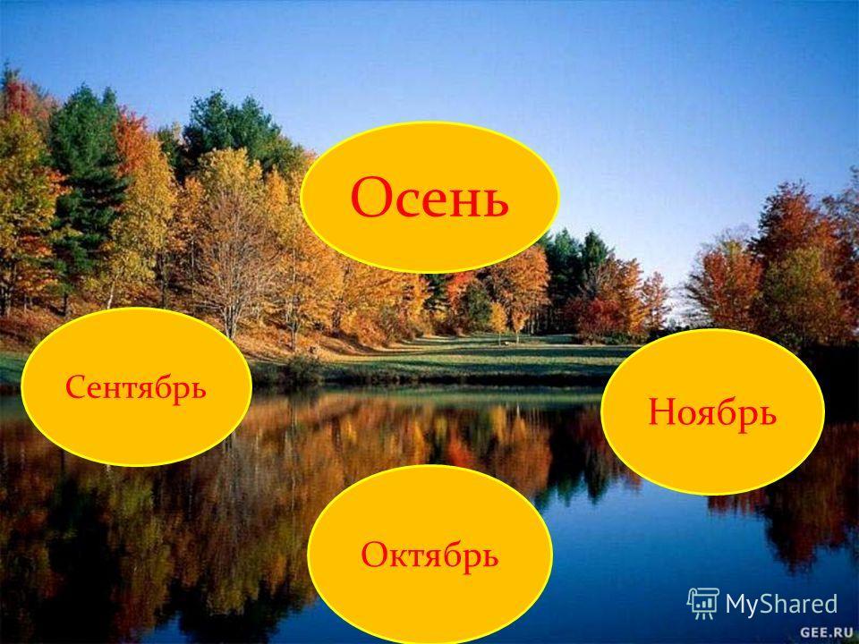 Осень Сентябрь Октябрь Ноябрь