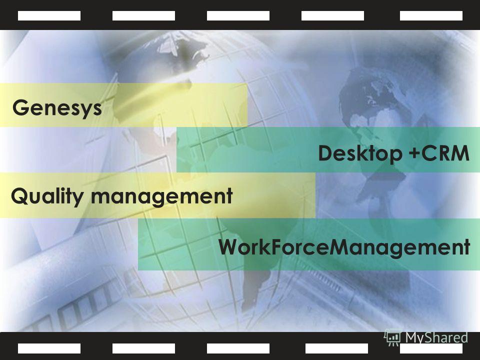 Genesys Quality management
