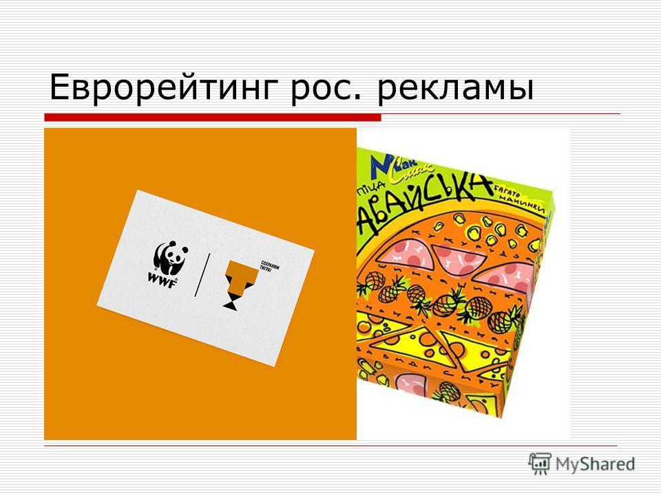 Еврорейтинг рос. рекламы