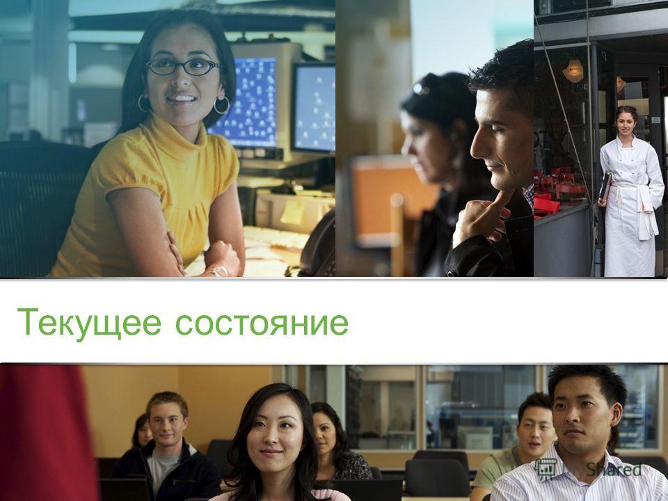 Конфиденциальная информация корпорации Cisco © Корпорация Cisco и/или ее дочерние компании, 2013. Все права защищены. 3 Текущее состояние