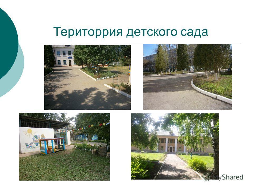 Територрия детского сада