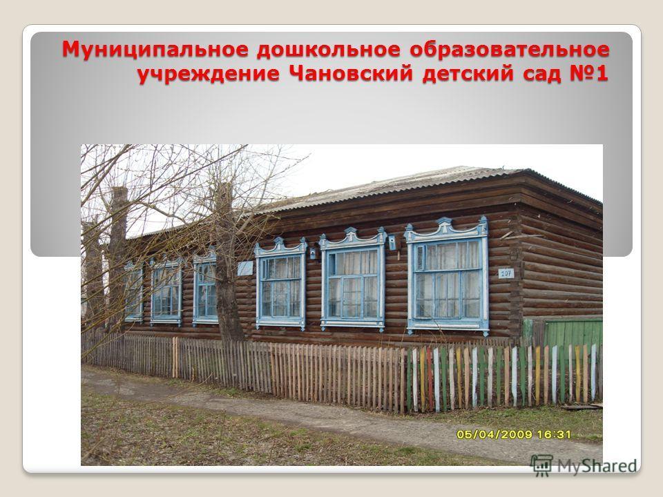Муниципальное дошкольное образовательное учреждение Чановский детский сад 1