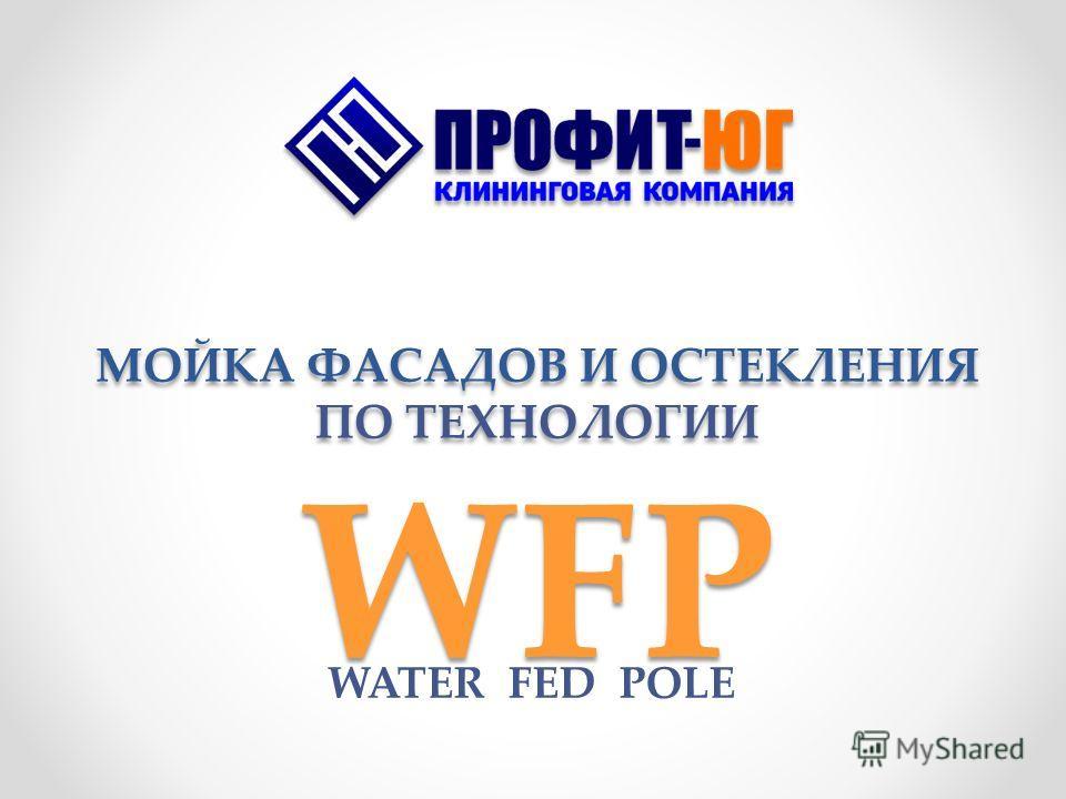 МОЙКА ФАСАДОВ И ОСТЕКЛЕНИЯ ПО ТЕХНОЛОГИИ WFP WATER FED POLE