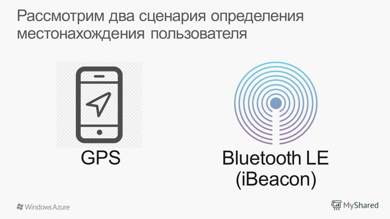 GPS Bluetooth LE (iBeacon)
