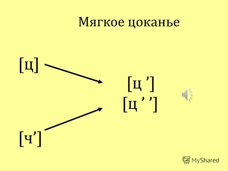 Аффрикаты в русском литературном языке [ч] переднеязычный передненёбный мягкий шипящий глухой [ц] переднеязычный зубной твердый свистящий глухой