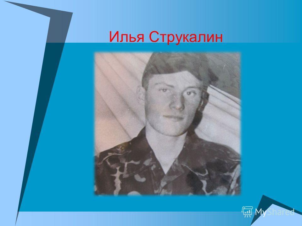 Илья Струкалин