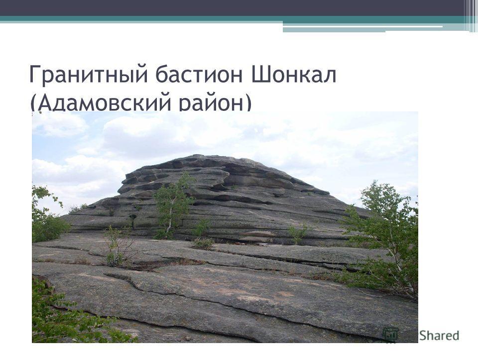 Гранитный бастион Шонкал (Адамовский район)