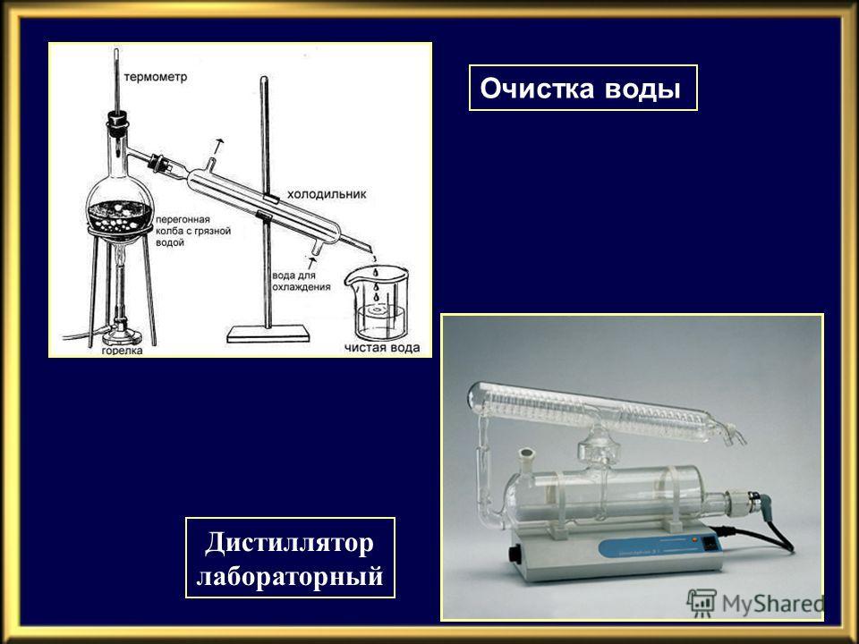Очистка воды Дистиллятор лабораторный