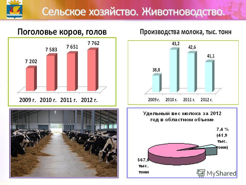 Сельское хозяйство. Животноводство.