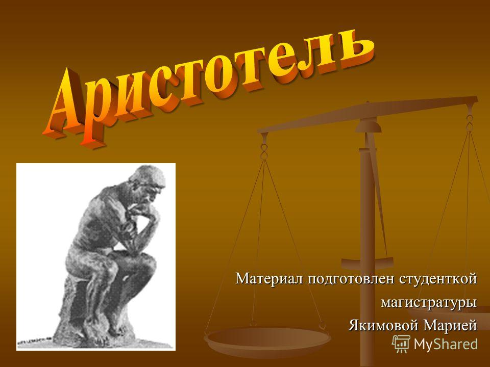 Материал подготовлен студенткой магистратуры Якимовой Марией