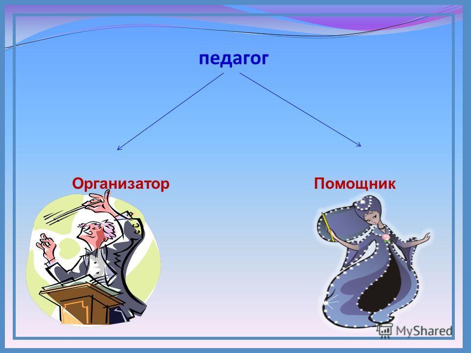 педагог Организатор Помощник