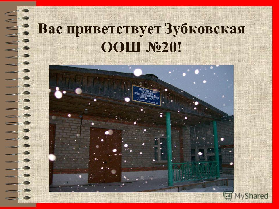 Вас приветствует Зубковская ООШ 20!