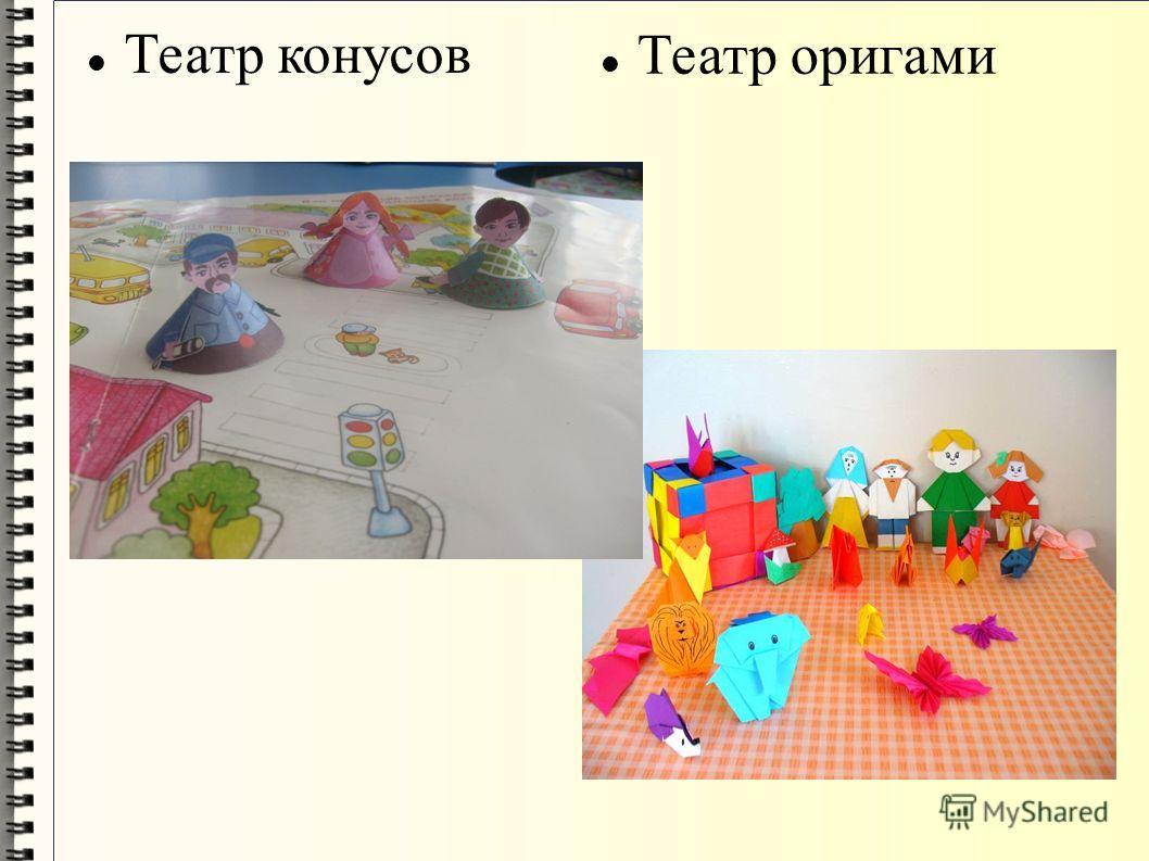 Театр конусов Театр оригами